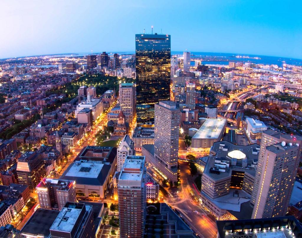 Boston letenky